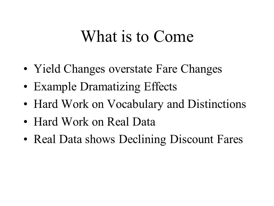 What is Yield.