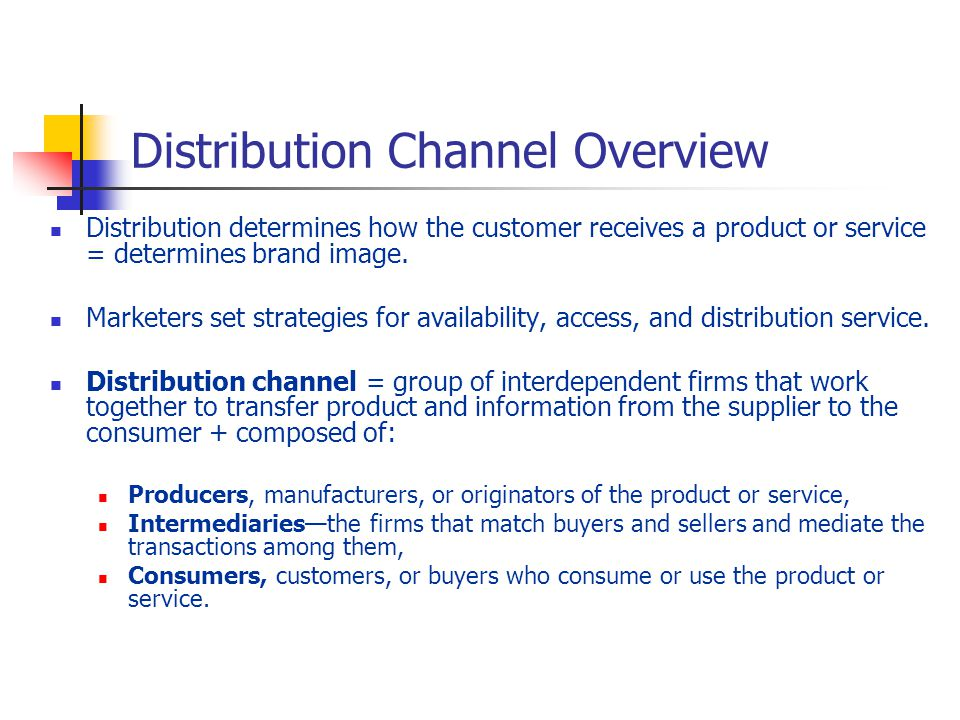 essay on distribution channels