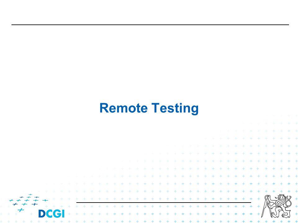 Remote Testing