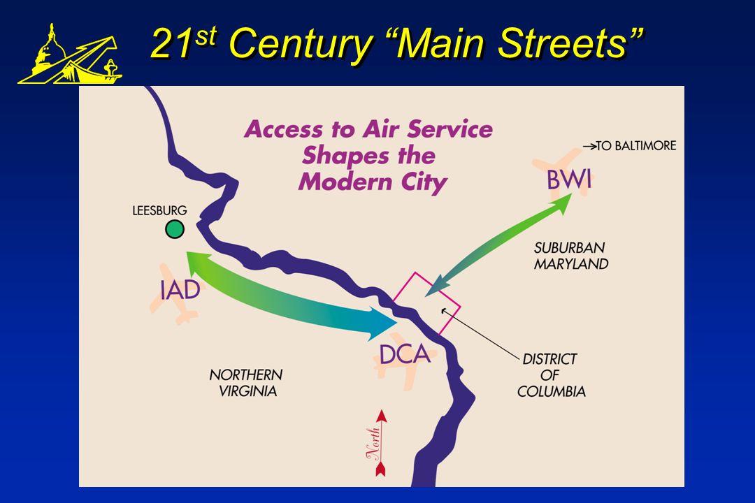 21 st Century Main Streets