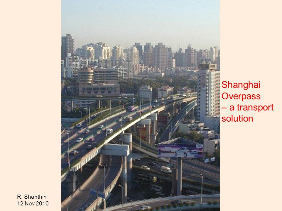 Shanghai Overpass – a transport solution