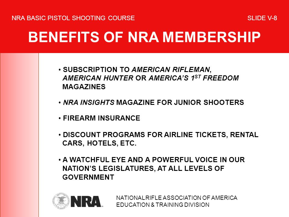 SUBSCRIPTION TO AMERICAN RIFLEMAN, AMERICAN HUNTER OR AMERICAS 1 ST FREEDOM MAGAZINES NRA INSIGHTS MAGAZINE FOR JUNIOR SHOOTERS FIREARM INSURANCE DISC