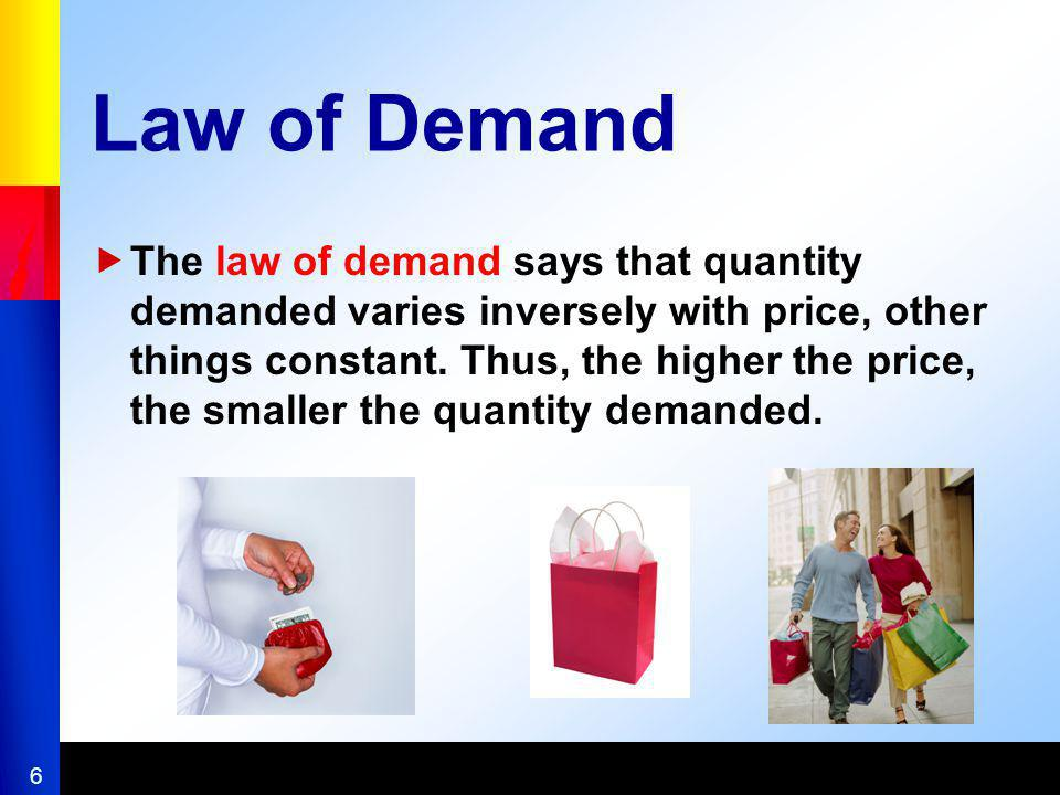 17 Determinants of Demand Elasticity Availability of substitutes The greater the availability of substitutes for a good, the greater the goods elasticity of demand Share of consumers budget spent on the good Increase in prices reduced the demand because people are not both willing and able to purchase @ higher prices A matter of time The longer the adjustment period, the greater the consumers ability to substitute Some elasticity estimates The elasticity of demand is greater in the long run because consumers have more time to adjust