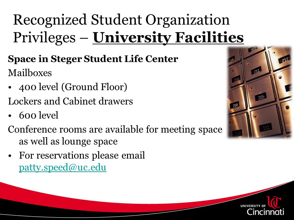 Conference and Event Services- Expressive Activity Policy Locations Bearcat Pavilion Bearcat Plaza Campus Green CRC East CRC West MainStreet Express Mart Lobby McMicken Commons Northwest McMicken Commons Sigma Sigma Commons TUC Atrium TUC Plaza
