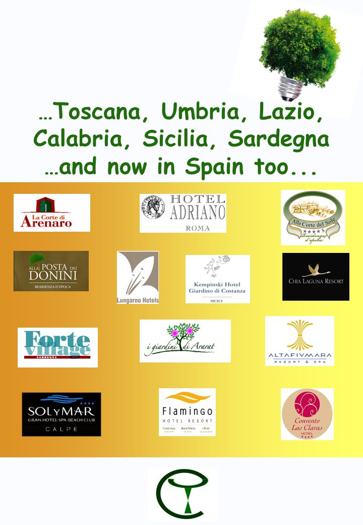 …Toscana, Umbria, Lazio, Calabria, Sicilia, Sardegna …and now in Spain too...