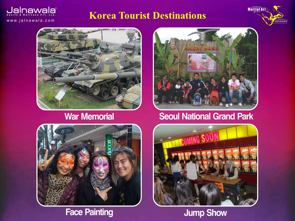 Korea Tourist Destinations