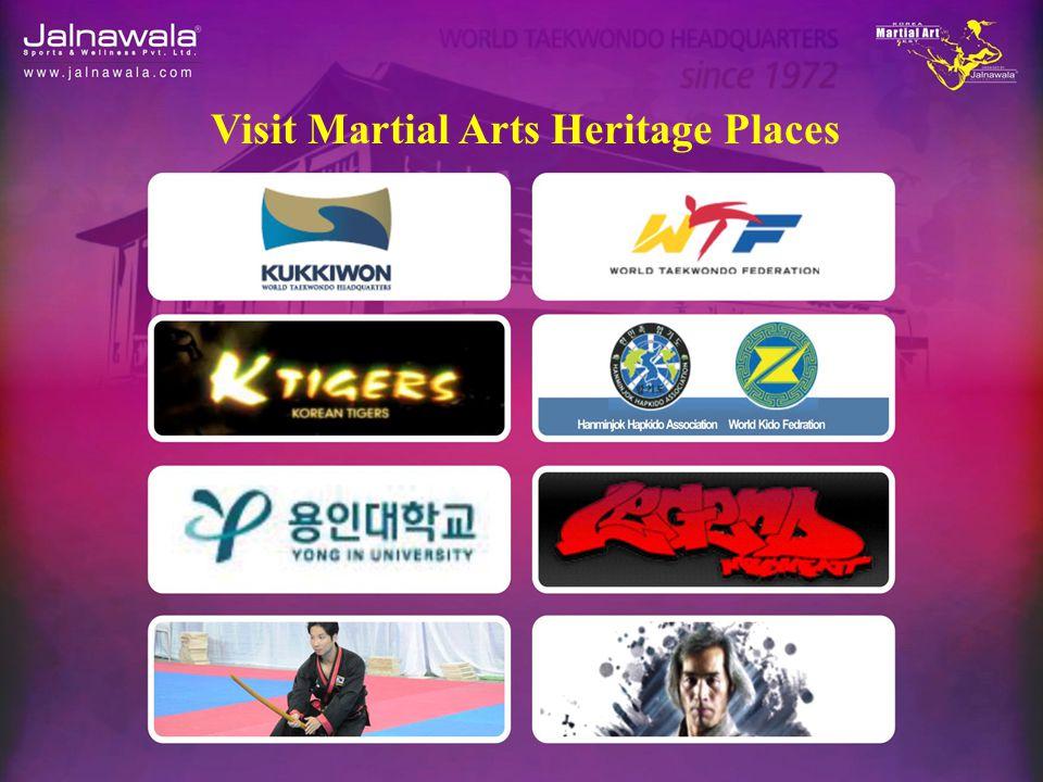 Visit Martial Arts Heritage Places