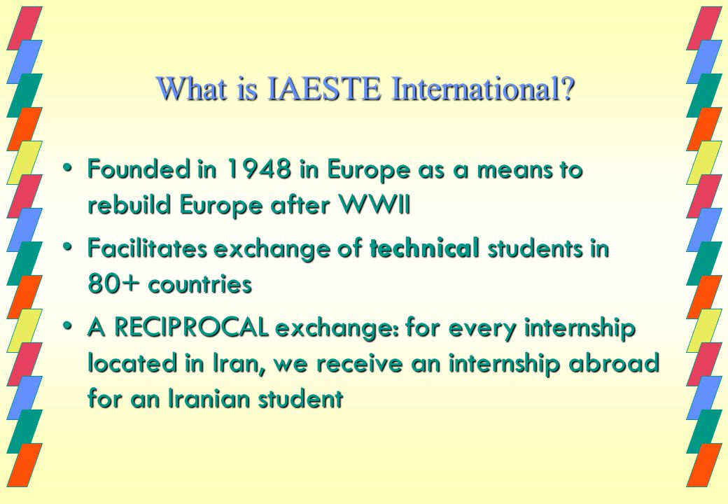 What is IAESTE International.