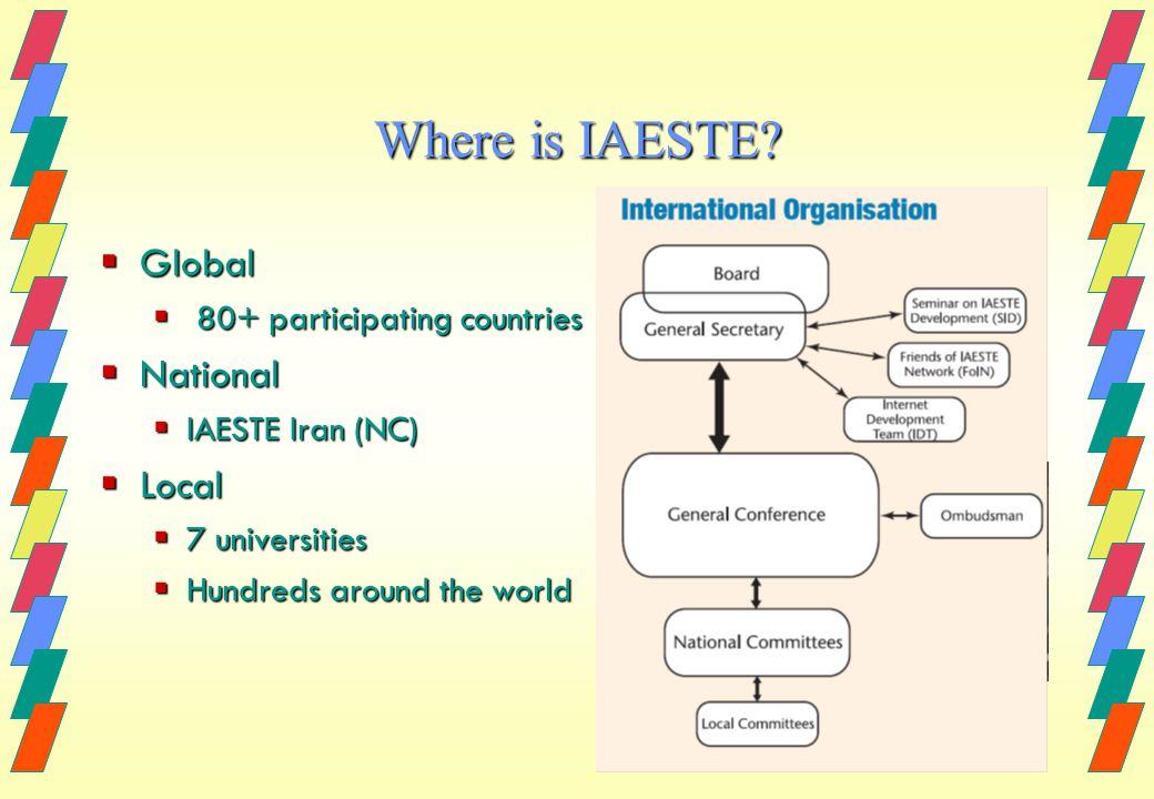 Where is IAESTE.
