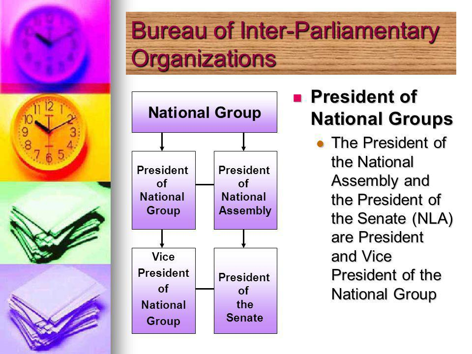 President of National Groups President of National Groups The President of the National Assembly and the President of the Senate (NLA) are President and Vice President of the National Group National Group President of National Group Vice President of National Group President of National Assembly President of the Senate