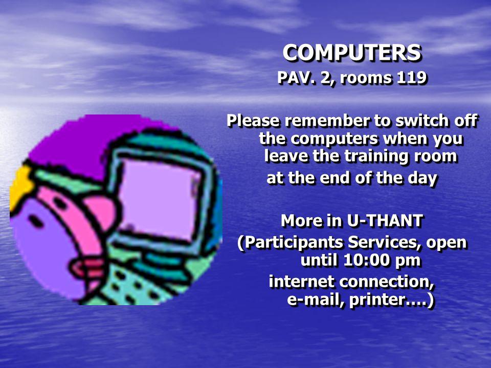 COMPUTERS PAV.