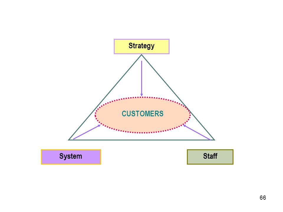 66 CUSTOMERS SystemStaff Strategy
