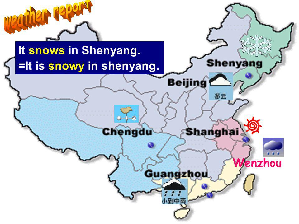 Whats the weather like in Lingxi today Its a …day, isnt it …. Is it rainy in Beijing now