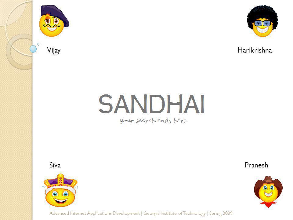 SANDHAI HarikrishnaVijay PraneshSiva
