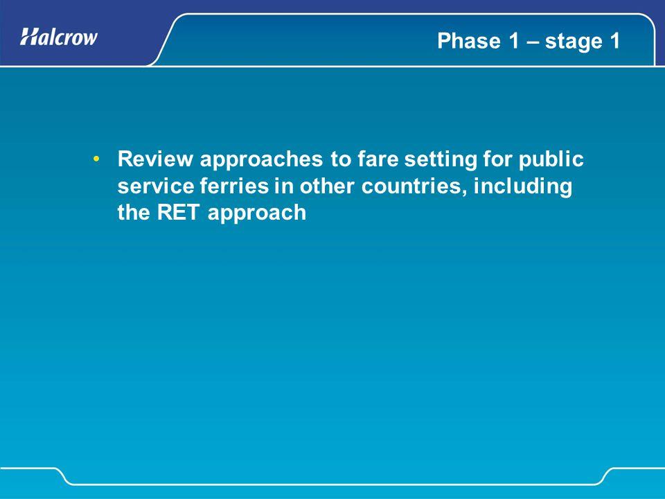 RET fares comparison 3 CurrentRETChangeCurrentRETchangeCurrentRETchange Passenger %Car %CVs % Gourock - Dunoon£2.32£2.430%£5.10£7.570%£81.78£32.57-60.17% Wemyss Bay - Rothesay£2.75£2.68-2.65%£9.50£9.06-4.61%£71.44£37.82-47.06% Colintraive - Rhubodach£0.83£2.060%£4.60£5.370%£24.68£24.810% Tarbert - Portavadie£2.23£2.350%£8.83£7.07-19.96%N/A£30.80N/A Ardrossan - Brodick£3.61£3.18-11.84%£19.83£12.09-39.06%£116.56£48.48-58.41% Lochranza - Tarbet/Claonaig£3.23£2.50-22.57%£12.50£7.98-36.14%£83.66£34.01-59.35% Largs - Cumbrae£2.59£2.12-18.22%£9.40£5.71-39.28%£57.22£26.00-54.57% Kennacraig - Islay£5.83£5.23-10.33%£26.33£24.39-7.39%£173.90£91.84-47.19% Oban - Craignure£2.95£2.93-0.61%£17.67£10.59-40.05%£122.91£43.21-64.84% Fishnish - Lochaline£1.78£2.190%£6.75£6.16-8.77%£71.21£27.58-61.26% Fionnphort - Iona£2.56£2.10-17.81%N/A Oban - Coll/Tiree£9.33£7.97-14.60%£45.83£40.83-10.93%£241.82£149.79-38.06% Oban - Castlebay/Lochboisdale£15.17£10.95-27.82%£47.17£58.690%£323.83£212.75-34.30% Mallaig - Armadale£2.41£2.500%£11.33£7.98-29.57%£55.70£34.01-38.93% Uig - Tarbert - Lochmaddy£7.00£4.92-29.71%£28.83£22.52-21.90%£181.42£85.26-53.01% Ullapool - Stornoway£10.83£7.22-33.35%£44.33£36.32-18.08%£257.56£133.90-48.01% Tayinloan - Gigha£1.97£2.250%£6.40£6.490%£81.55£28.77-64.72% Raasay - Sconser£1.44£2.190%£4.55£6.160%£88.36£27.58-68.78% Comparison of RET and 2008 multi-journey ticket Note: multi-journey tickets shown in cost per single journey