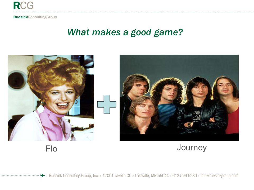What makes a good game Flo Journey