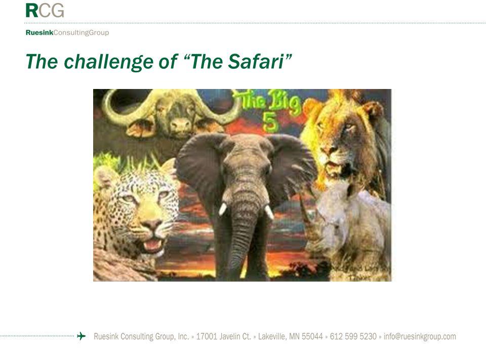 The challenge of The Safari