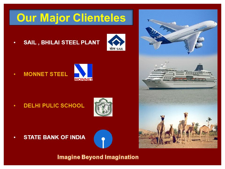 SAIL, BHILAI STEEL PLANT MONNET STEEL DELHI PULIC SCHOOL STATE BANK OF INDIA