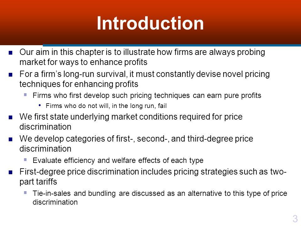 24 Figure 13.2 Second-degree price discrimination yielding a pure profit
