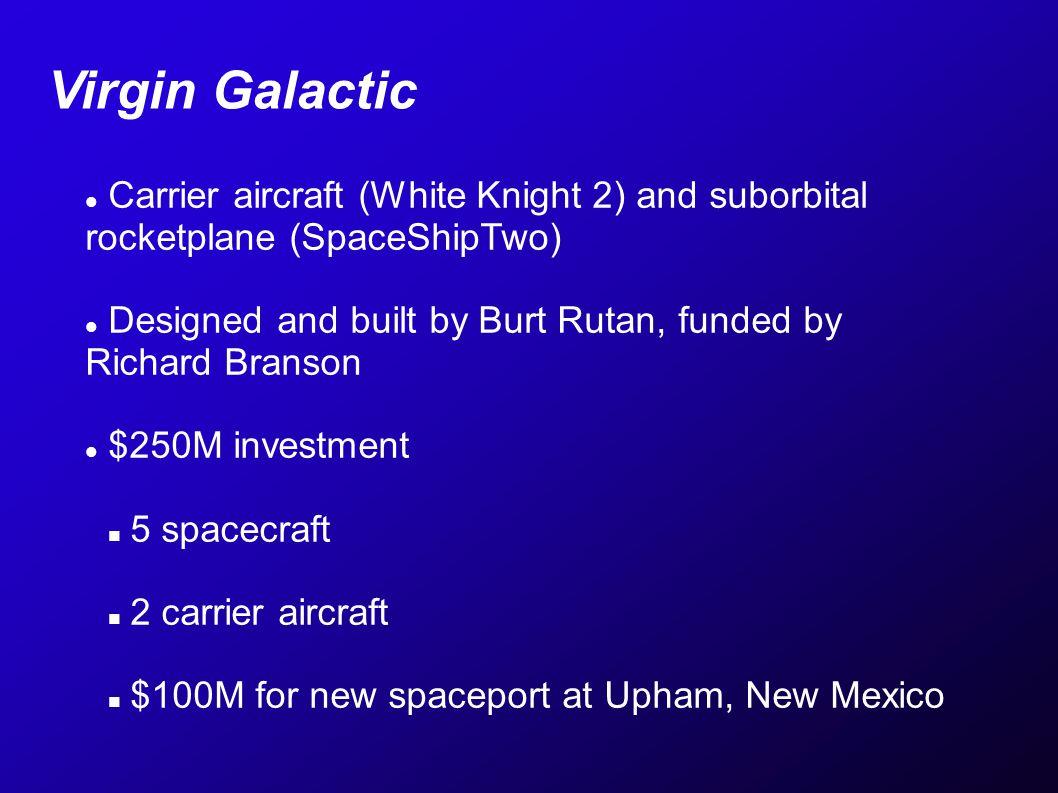 140km max altitude, ~5min of microgravity.$200,000 per seat ~200 customers now, est.