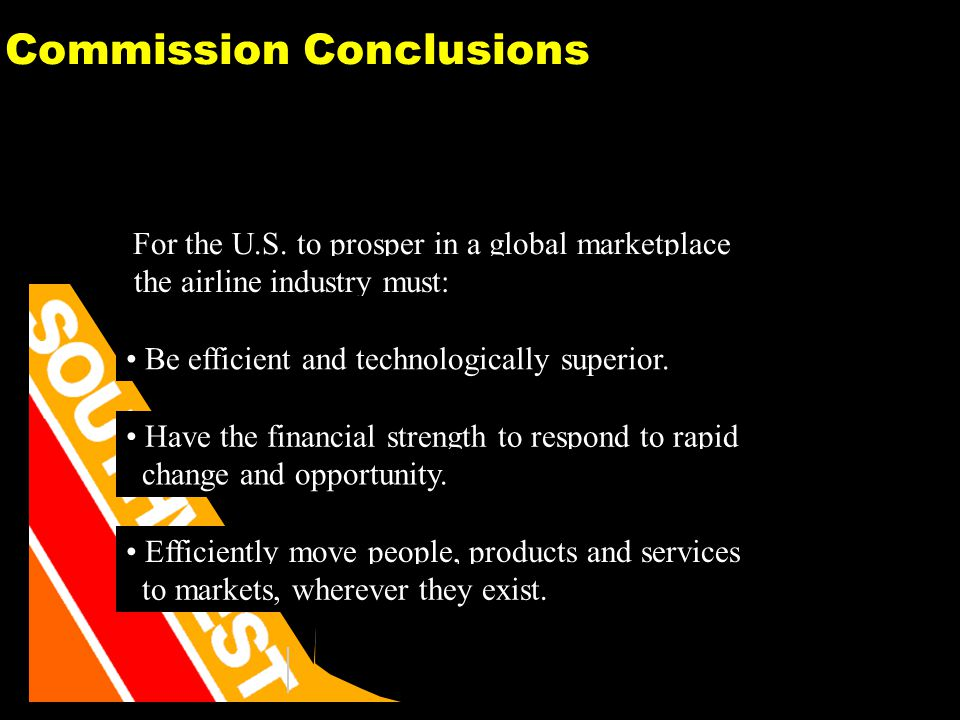 27 Commission Conclusions For the U.S.