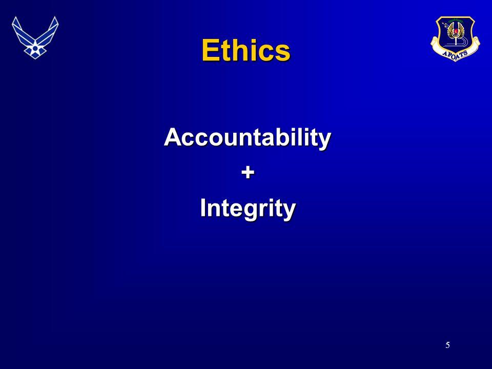 5 Ethics Accountability+Integrity