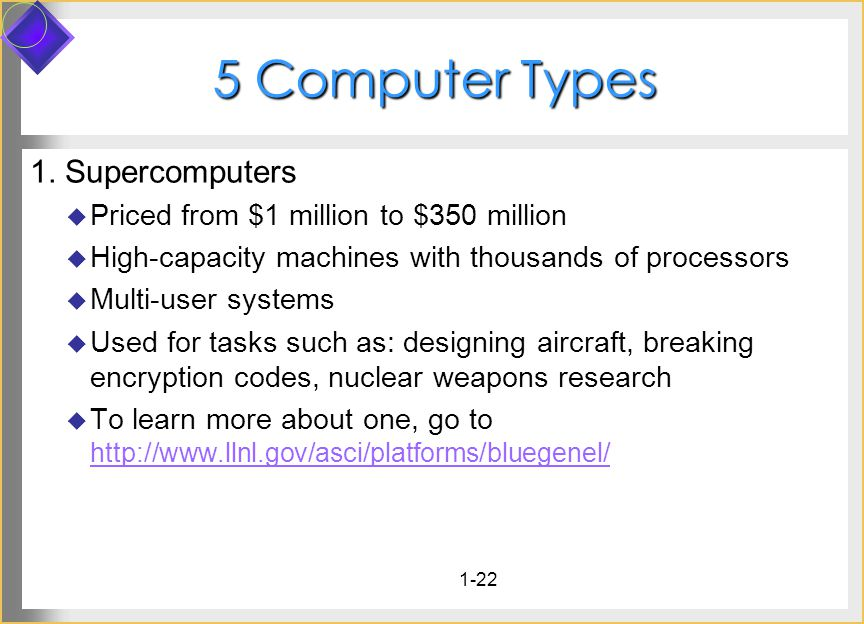 Computer Types 1.