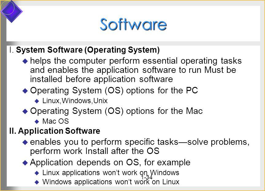 1-34 Software I.