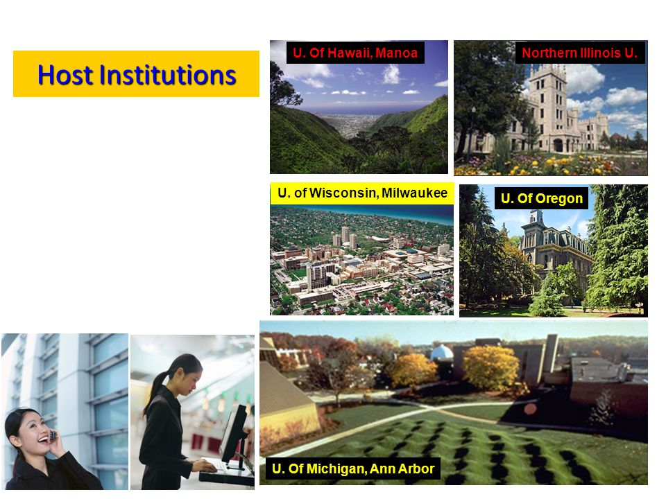 Host Institutions U.Of Hawaii, ManoaNorthern Illinois U.