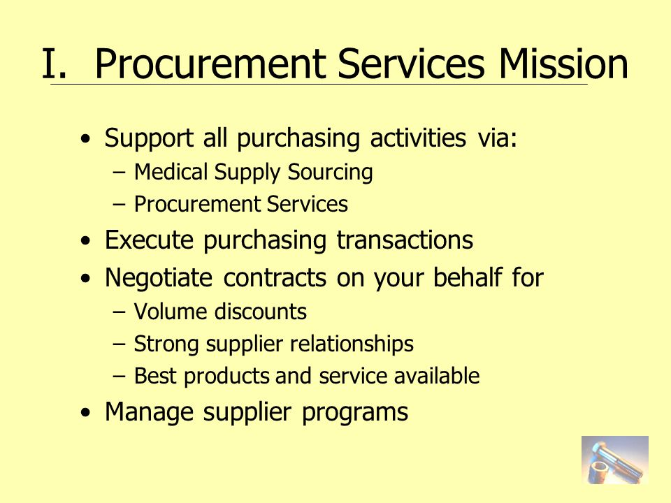 Disbursement Services