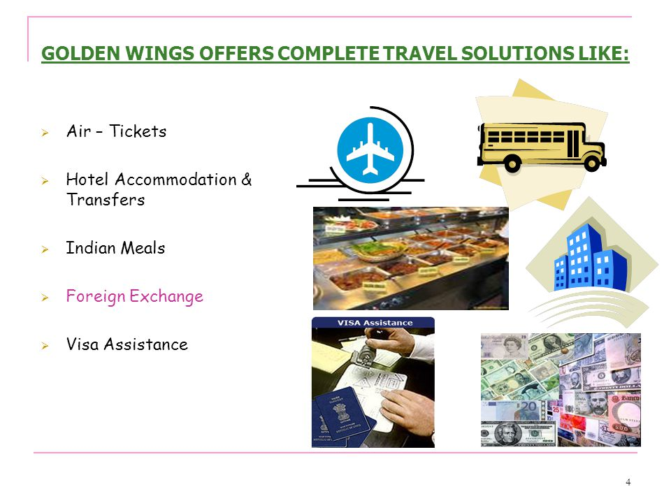 5 ALSO OFFERS……… Business Tour Packages for International Fairs at China, Singapore, U.K., USA, Europe and other parts of the world Industries –Automobile, Food & Beverages, Printing, Packaging, Publishing, Information Technology, Hardware, Textile, Chemicals, Metal, Wire, Tube, Leather & Footwear, Machine Tool, Plastics, Photography, Medical Equipment etc…………… Apartments & Private Accommodations FIT Holiday Packages – Inbound & Outbound Group Holiday Packages – Inbound & Outbound Student Travel Groups in India & Abroad Religious Tours of India Yoga & Meditation Tours of India Incentives and Dealers conferences in India & Abroad Overseas Travel Insurance Western Union Money Transfer