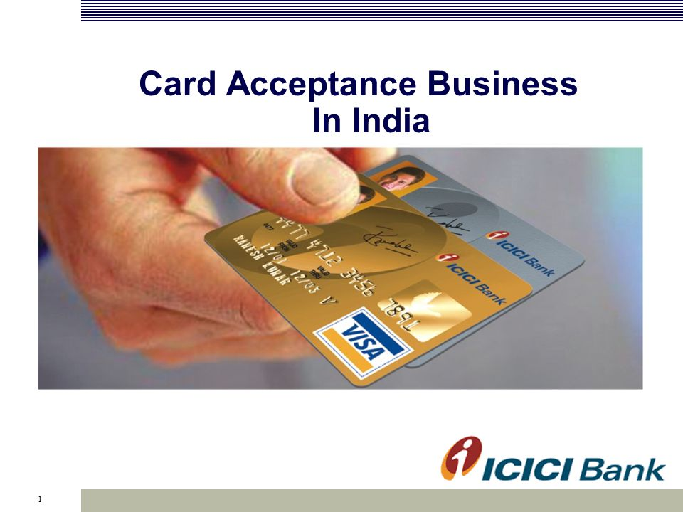 1 Card Acceptance Business In India