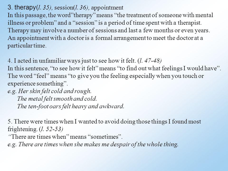 II Pre-Reading Understanding Words in Context 1.B 2.