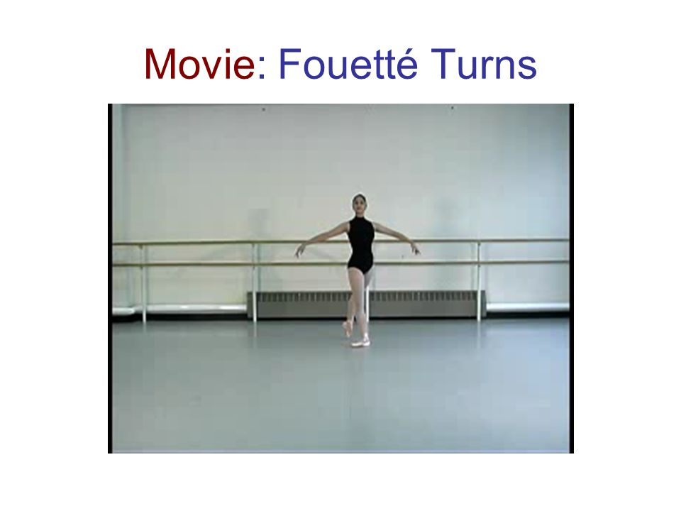 Movie: Fouetté Turns