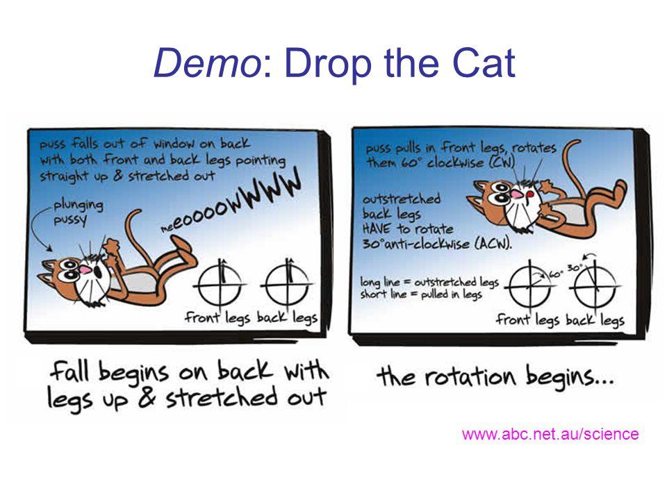 Demo: Drop the Cat www.abc.net.au/science