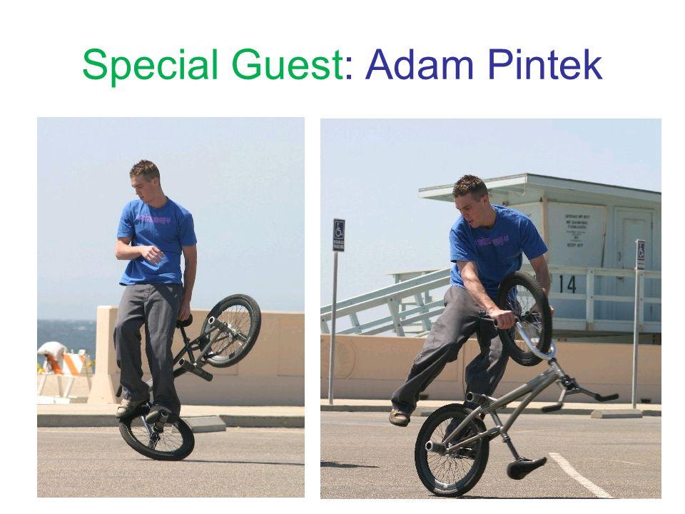 Special Guest: Adam Pintek