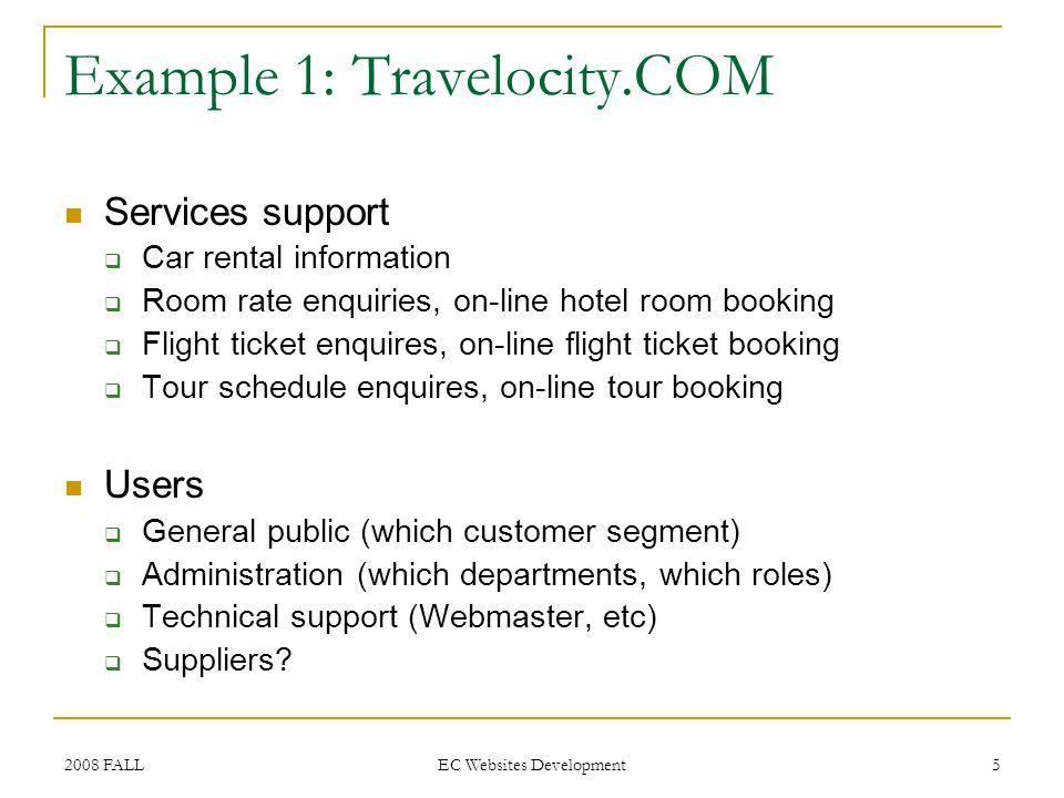 2008 FALL EC Websites Development 6 Example 2: Global-Trade.COM