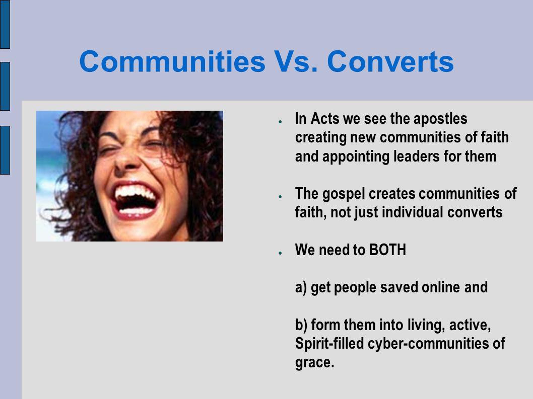Communities Vs.