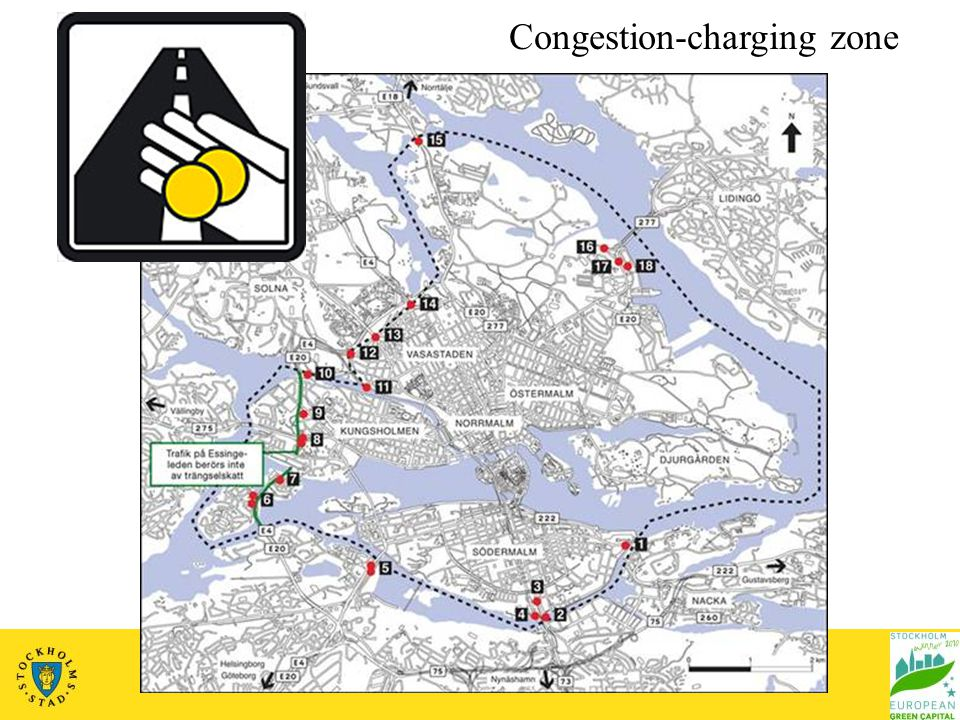 Congestion-charging zone