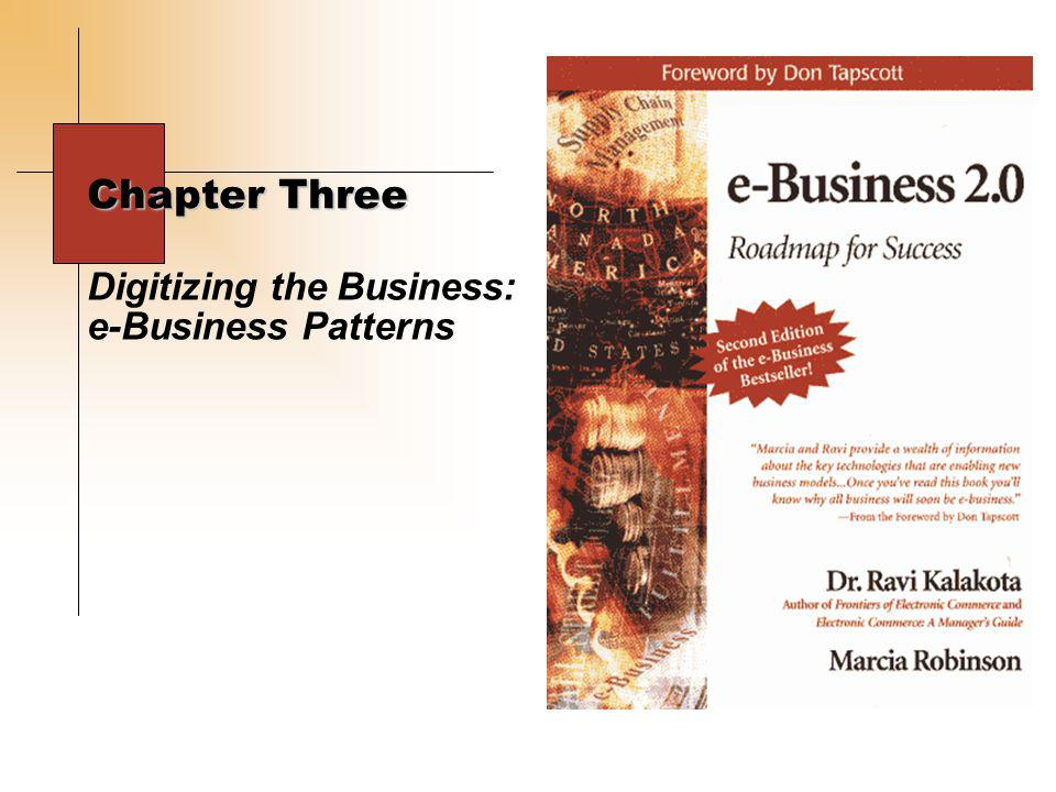 © e-Business Strategies, Inc.www.ebstrategy.com - 12 - e-Channel e-Portal e-Market Maker e-Business Patterns: The Structural Foundation Pure-E Digital Products Click-and-Brick Table of Contents