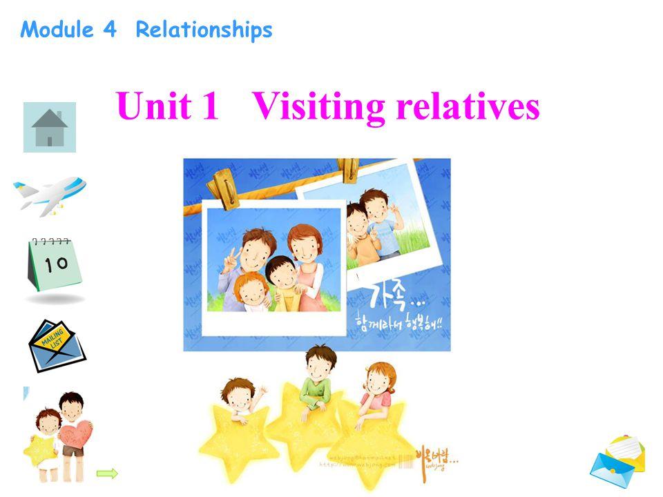 Module 4 Relationships Unit 1 Visiting relatives