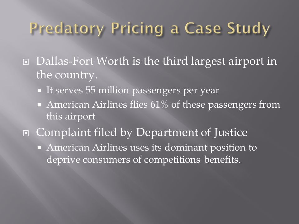 Dallas-Fort Worth is the third largest airport in the country.