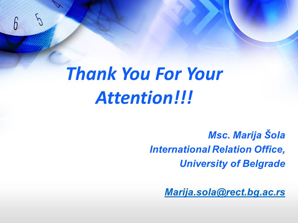 Thank You For Your Attention!!.Msc.