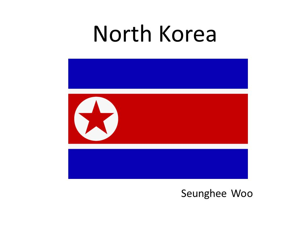 North Korea Seunghee Woo