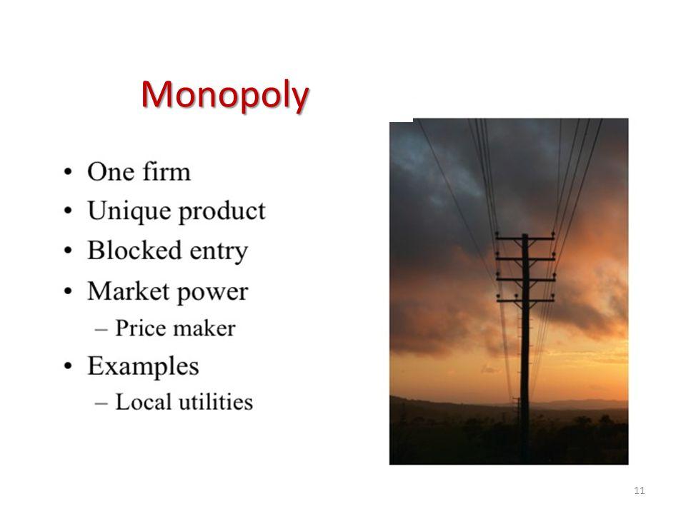 11 Monopoly