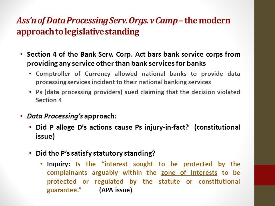 Assn of Data Processing Serv. Orgs.