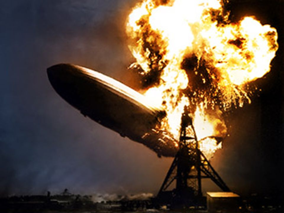 Guided Comprehension Continued Why do you think it took only thirty-two seconds for the Hindenburg to burn? Which part of this sentence, Amazingly, of