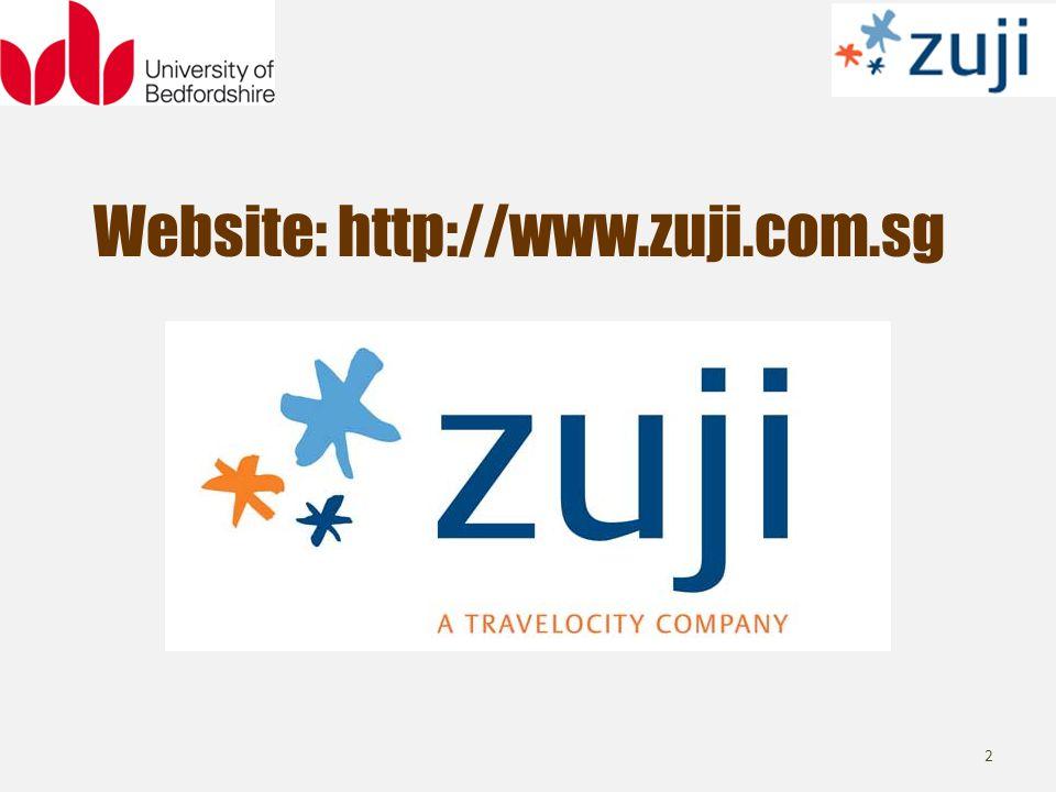 Website: http://www.zuji.com.sg 2