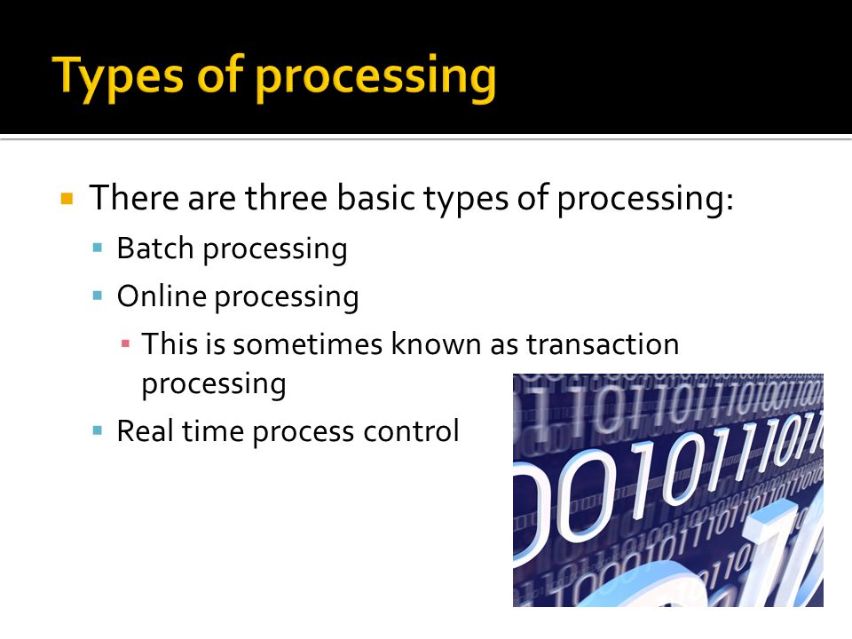 Batch processing 1.
