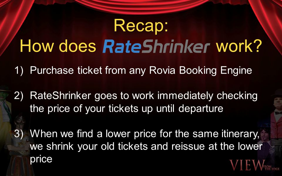 How many hotels in Rovias vast global inventory are participating in the RateShrinker program?